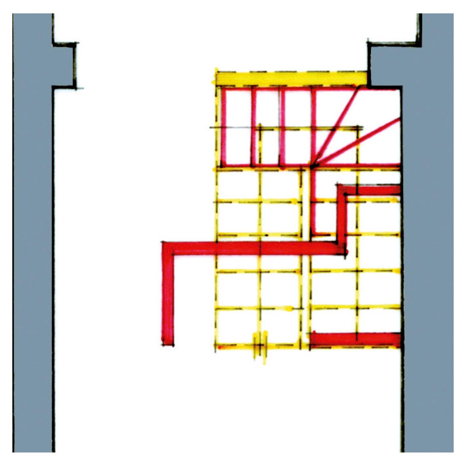 Una casa stretta e lunga che ottimizza lo spazio cose di for Disegni di casa al piano terra