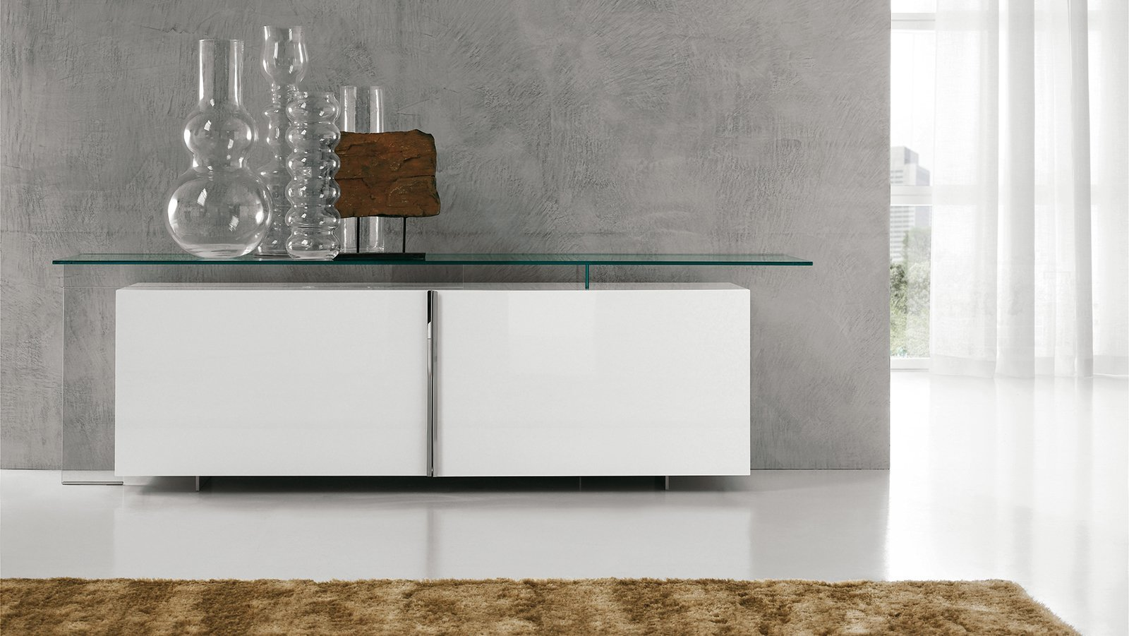 Madie mobili bassi per contenere cose di casa - Mobili in cristallo ...
