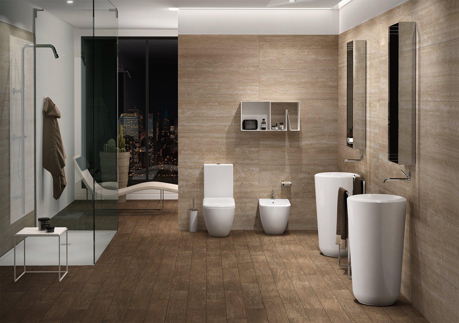 Lavabo e mobile bagno novit viste al cersaie cose di casa for Piccoli piani di casa francese