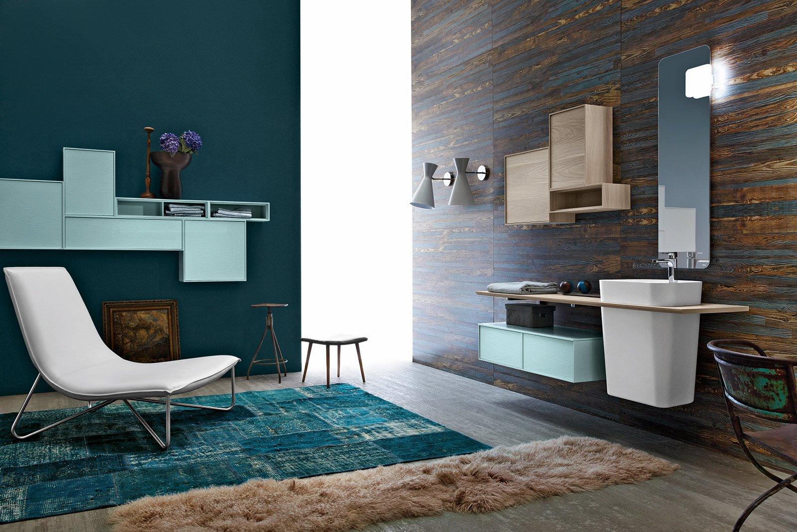 Lavabo e mobile bagno novit viste al cersaie cose di casa - Arredo bagno anni 50 ...