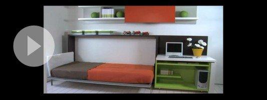 Camere con funzioni trasformabili. Un video con soluzioni per moltiplicare lo spazio