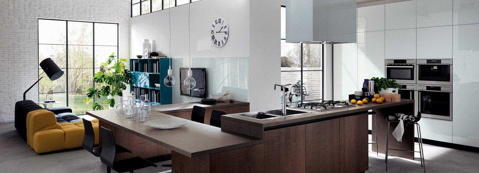 Cucina e soggiorno in un open space cose di casa for Cose di casa progetti