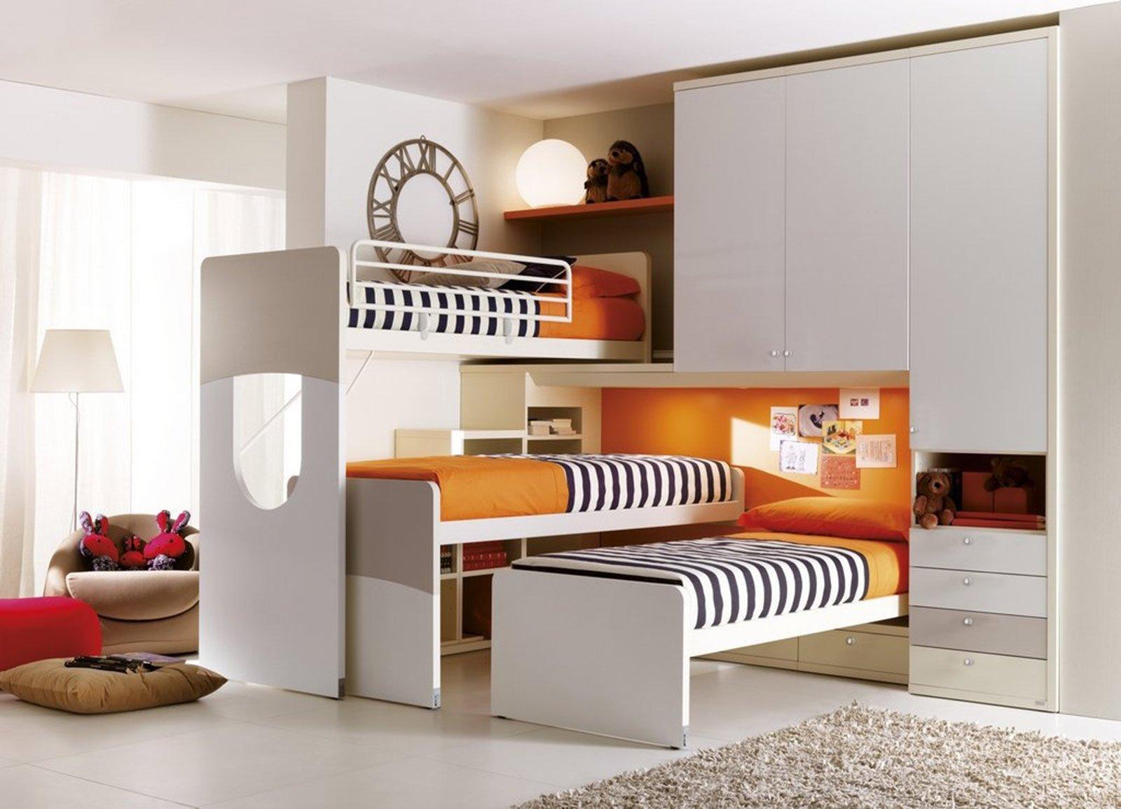 Camerette salvaspazio cose di casa for Camera da letto e studio