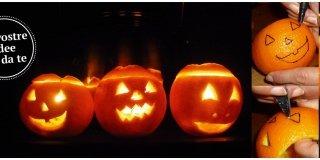 Halloween 2013: zucche o arance da intagliare? Le immagini