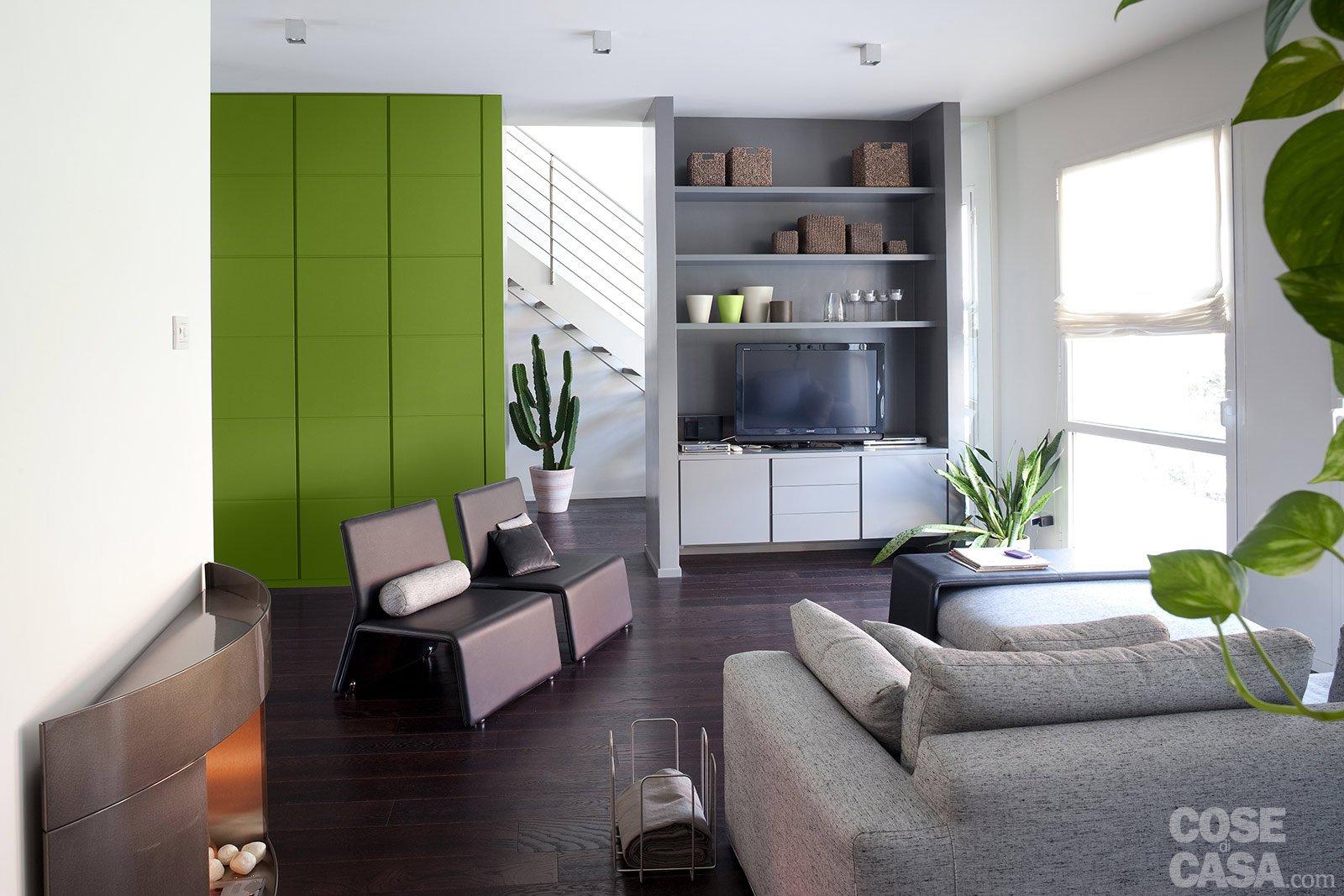 Una casa ristrutturata puntando sull 39 efficienza energetica for Foto di case arredate