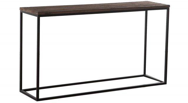 Essenziale nella sua linea Bent di Flamant Collection è realizzata con un struttura in ferro anticato e legno di pino invecchiato. Misura L 150 x P 40 x H 83 cm. Prezzo 495 euro. www.flamant.com