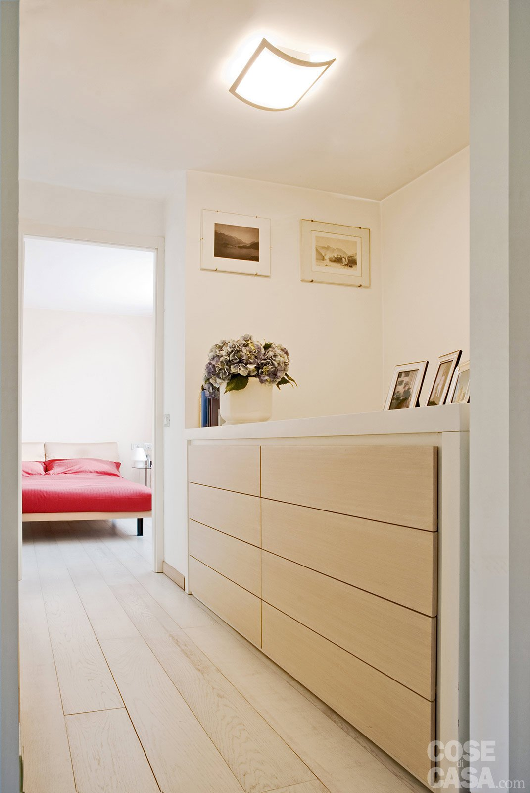 La casa di 60 mq raddoppia sfruttando il sottotetto cose di casa - Mobili da corridoio ...