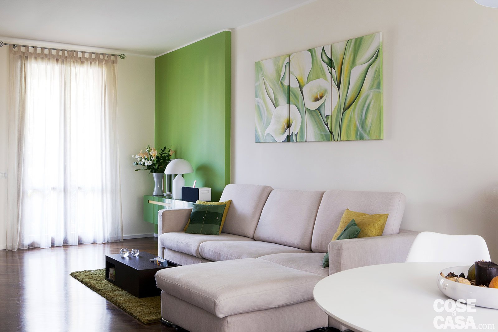 Casa: Più Vivibile Dopo La Ristrutturazione Cose Di Casa #707D43 1600 1067 Come Arredare Un Ambiente Unico Cucina Soggiorno