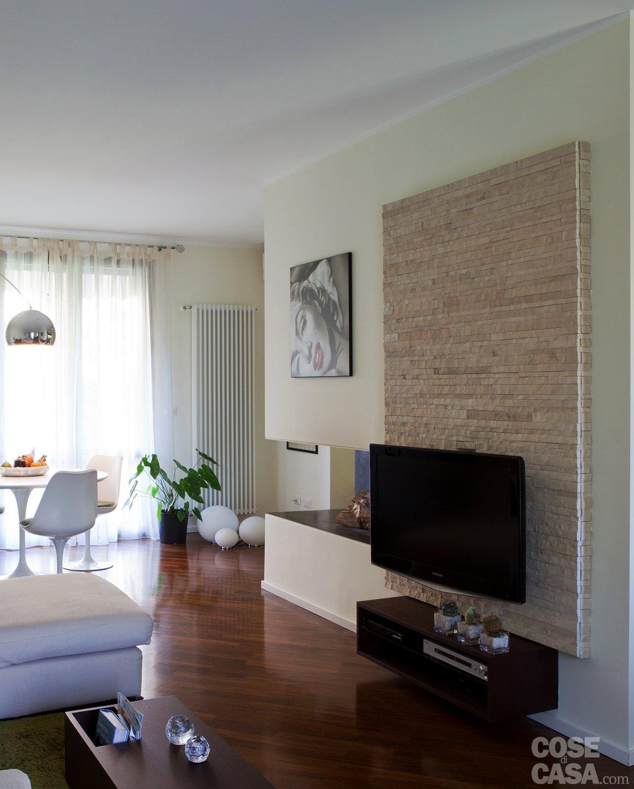 Salotto Moderno Con Camino ~ Idee per il design della casa