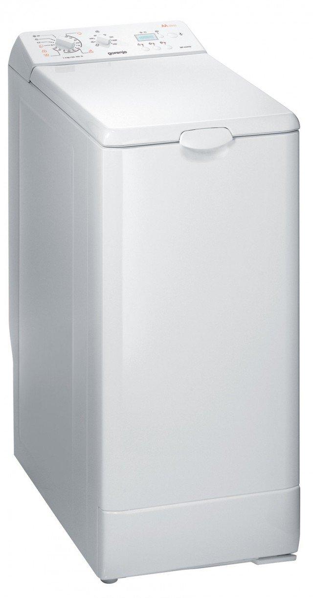 Larga 40 cm, la lavatrice a carica dall'alto WT63090 di Gorenje, ha capacità di carico da 1 a 6 kg, è regolabile su 15 programmi di lavaggio e consente di programmare la partenza differita. E' classe di efficienza energetica A. Prezzo 495 euro. www.gorenje.it