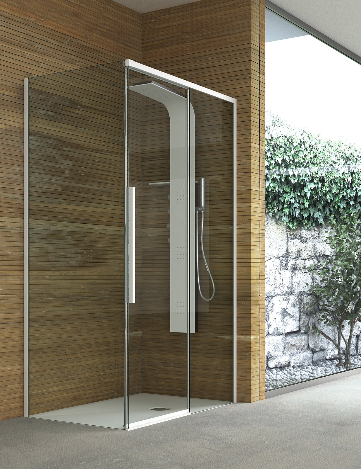 Box doccia quale chiusura scegliere cose di casa for Doccia aperta