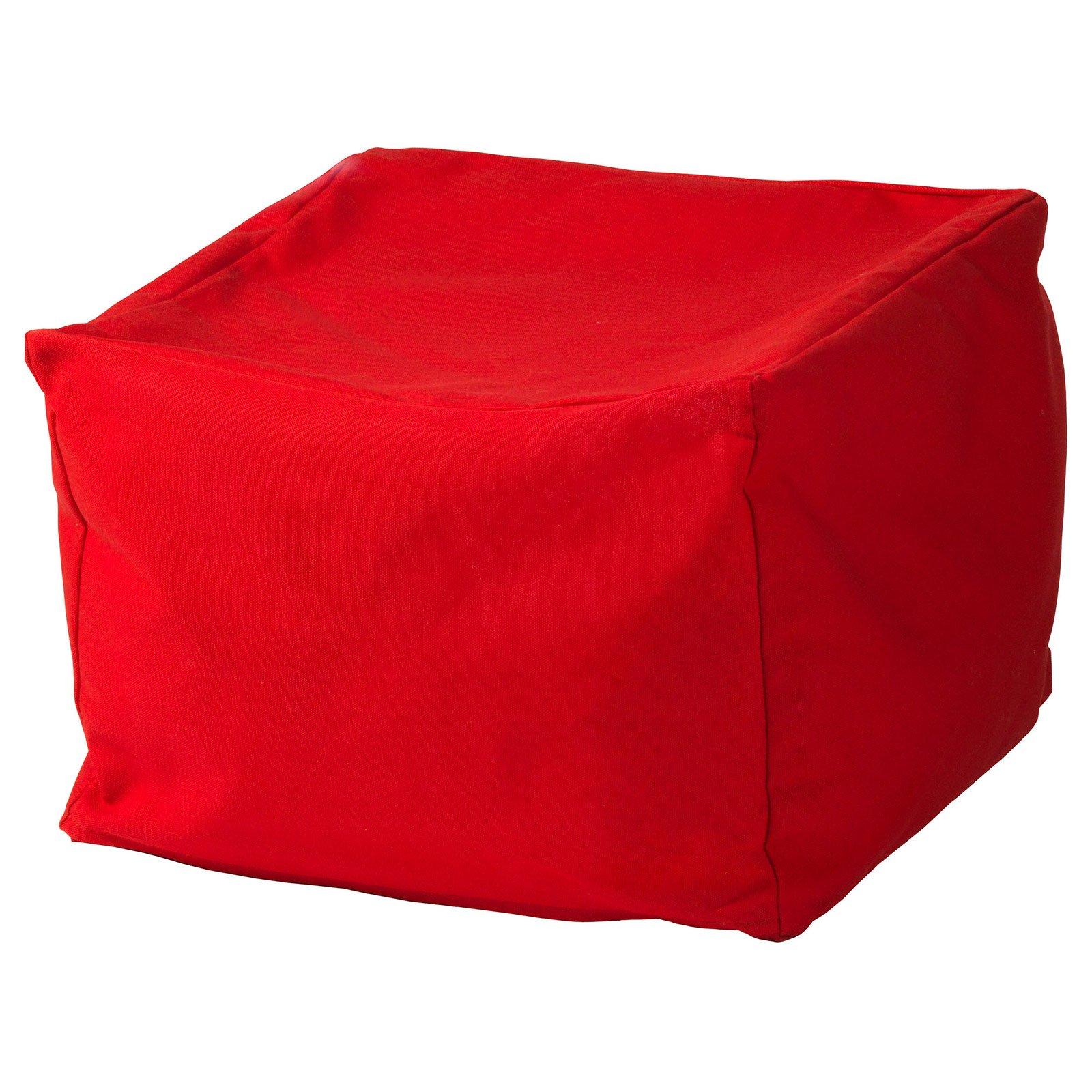 Pouf In Cotone Effetto Maglia pouf, la seduta che si sposta ovunque - cose di casa