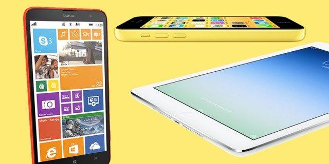 iPad Air e Lumia, le ultime novità