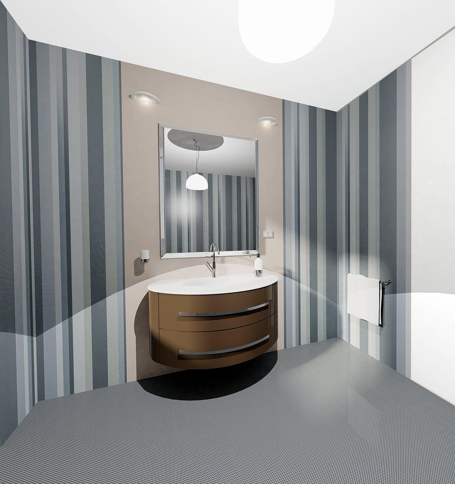 Scegliere i rivestimenti per pareti e pavimenti cose di casa - Finitura piastrelle bagno ...