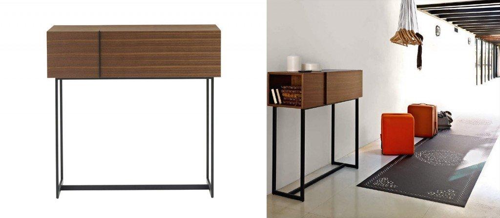 Console per sfruttare bene lo spazio cose di casa for Consolle scrivania
