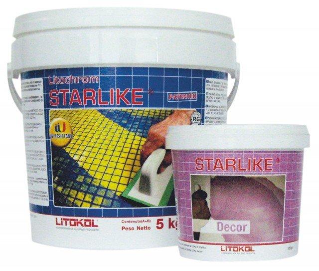 Il sigillante abbinato all'additivo permettedi ottenere una malta applicabile come rasante. Prezzo su preventivo.Starlike® e Decor di Litokol www.litokol.it