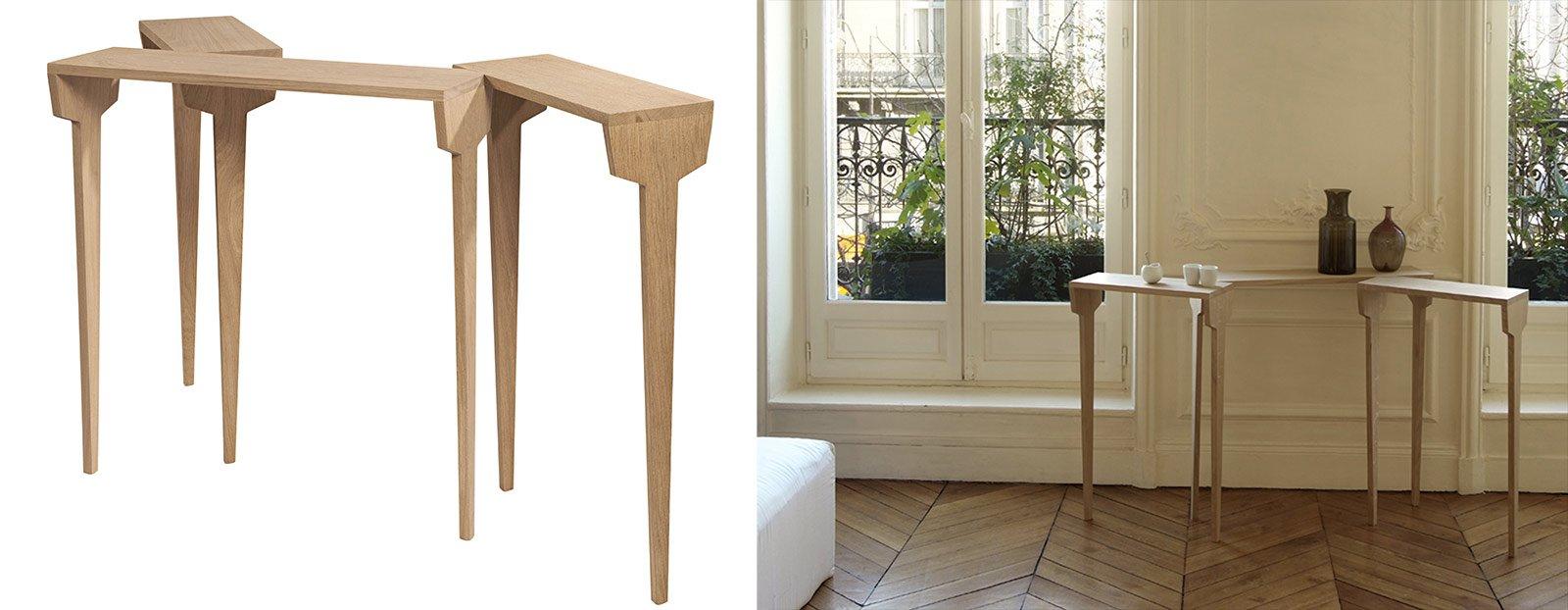 Console per sfruttare bene lo spazio cose di casa for Piani di casa francese in tudor