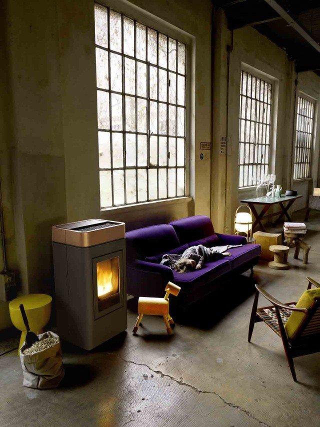 Stufe a pellet cose di casa - Ventilazione forzata casa ...