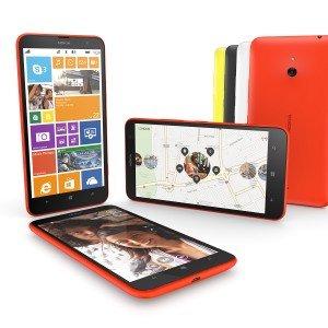 Lo smartphone Nokia Lumia 1320 si trova in colori brillanti e schermo da 6 pollici. Prezzo per l'Italia non ancora disponibile, prezzo global 339 dollari, tasse e sovvenzioni escluse. www.nokia.com