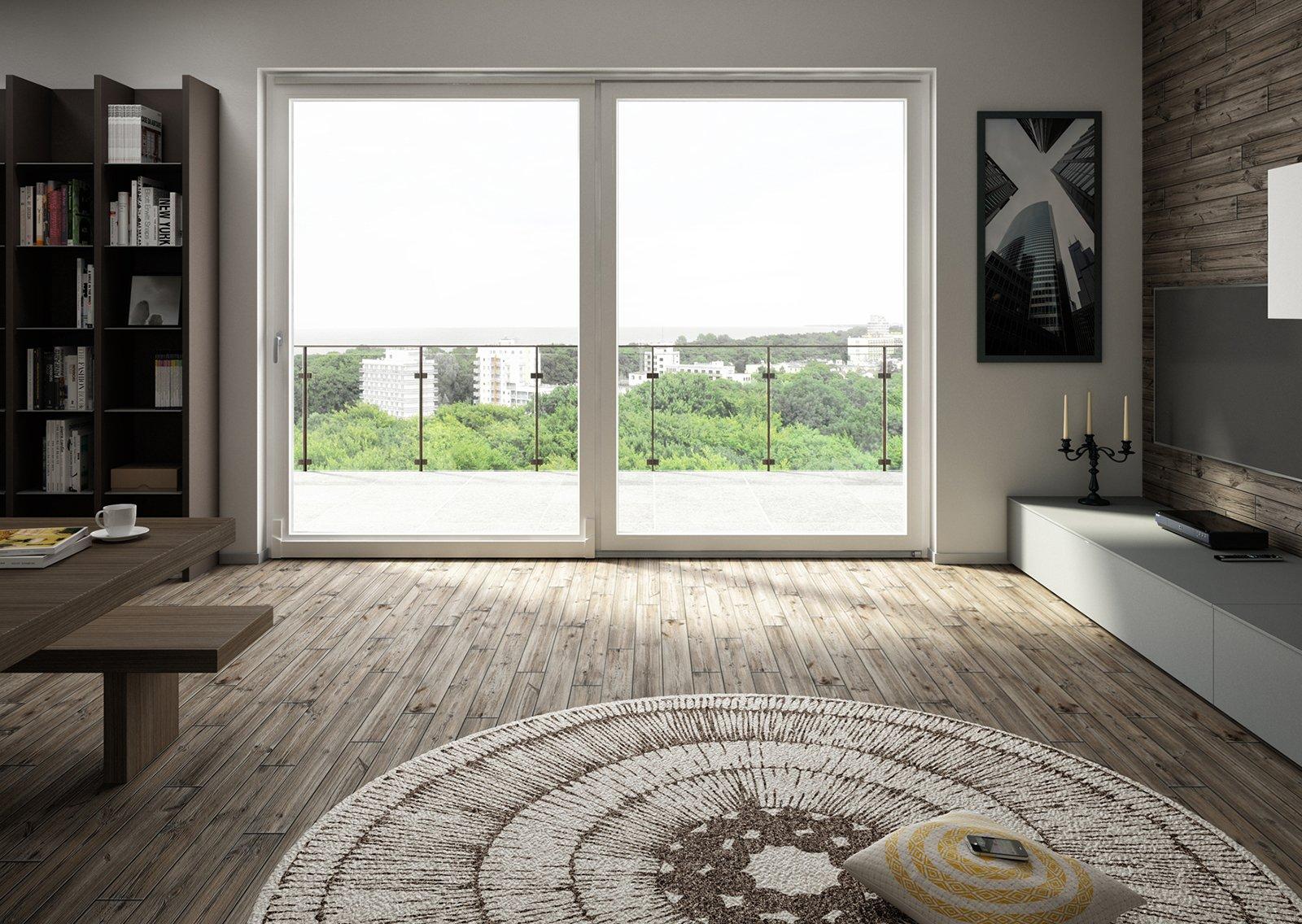 Grandi finestre caratteristiche da valutare cose di casa for Porte scorrevoli pvc