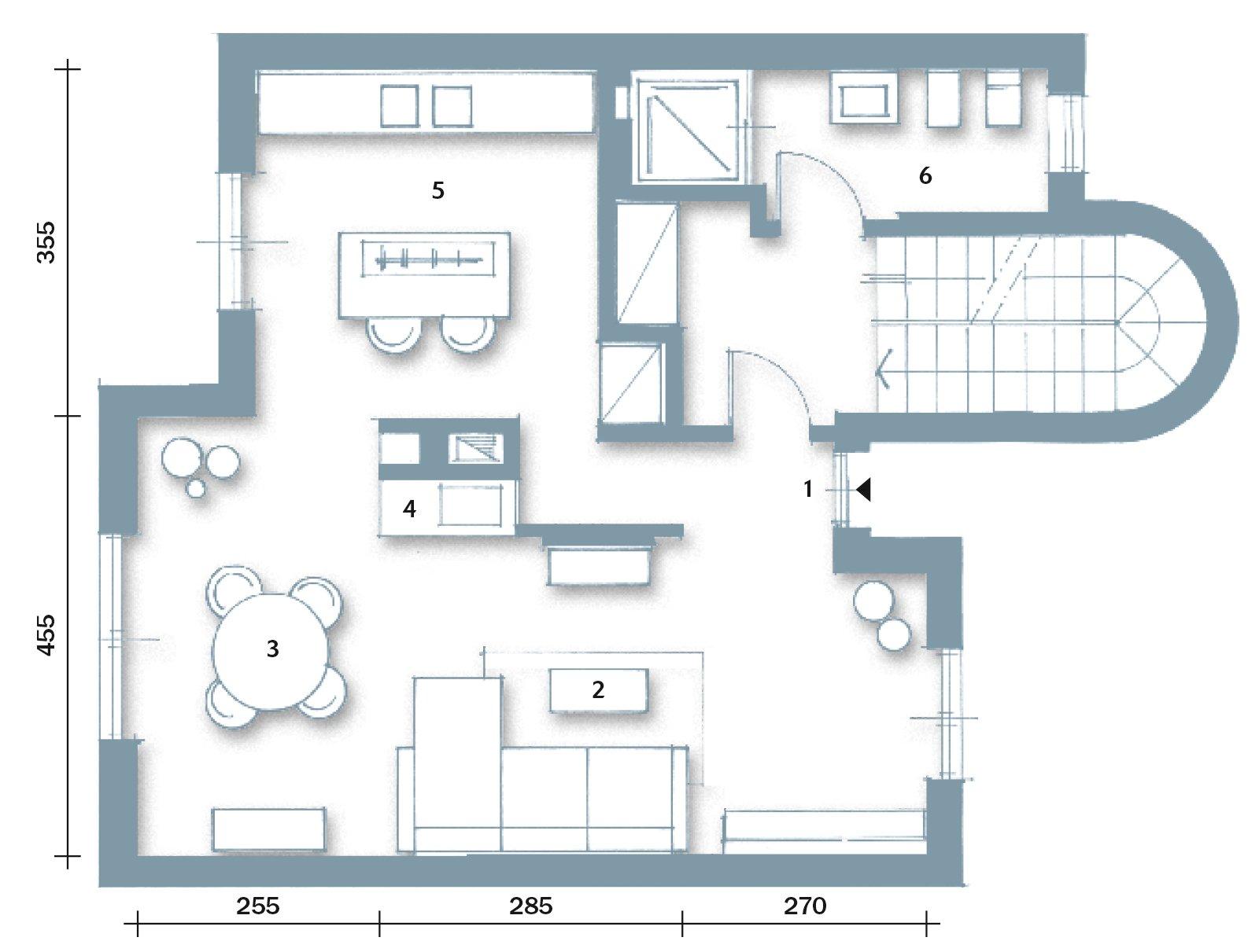 Casa pi vivibile dopo la ristrutturazione cose di casa - Finestre in pianta ...
