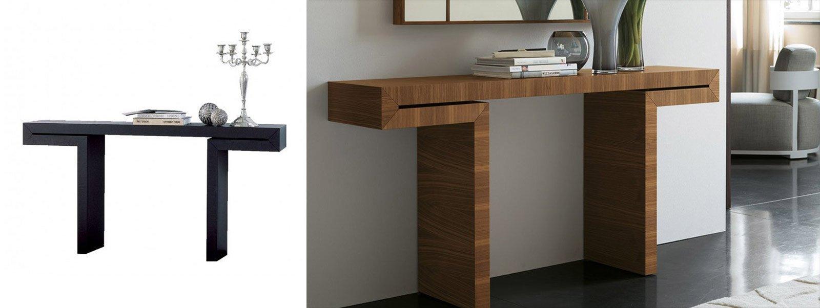 Console per sfruttare bene lo spazio cose di casa for Mobile per console