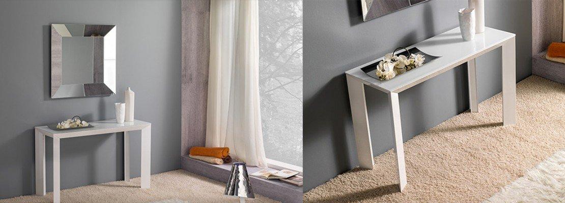 Console per sfruttare bene lo spazio cose di casa - Scrivanie da soggiorno ...