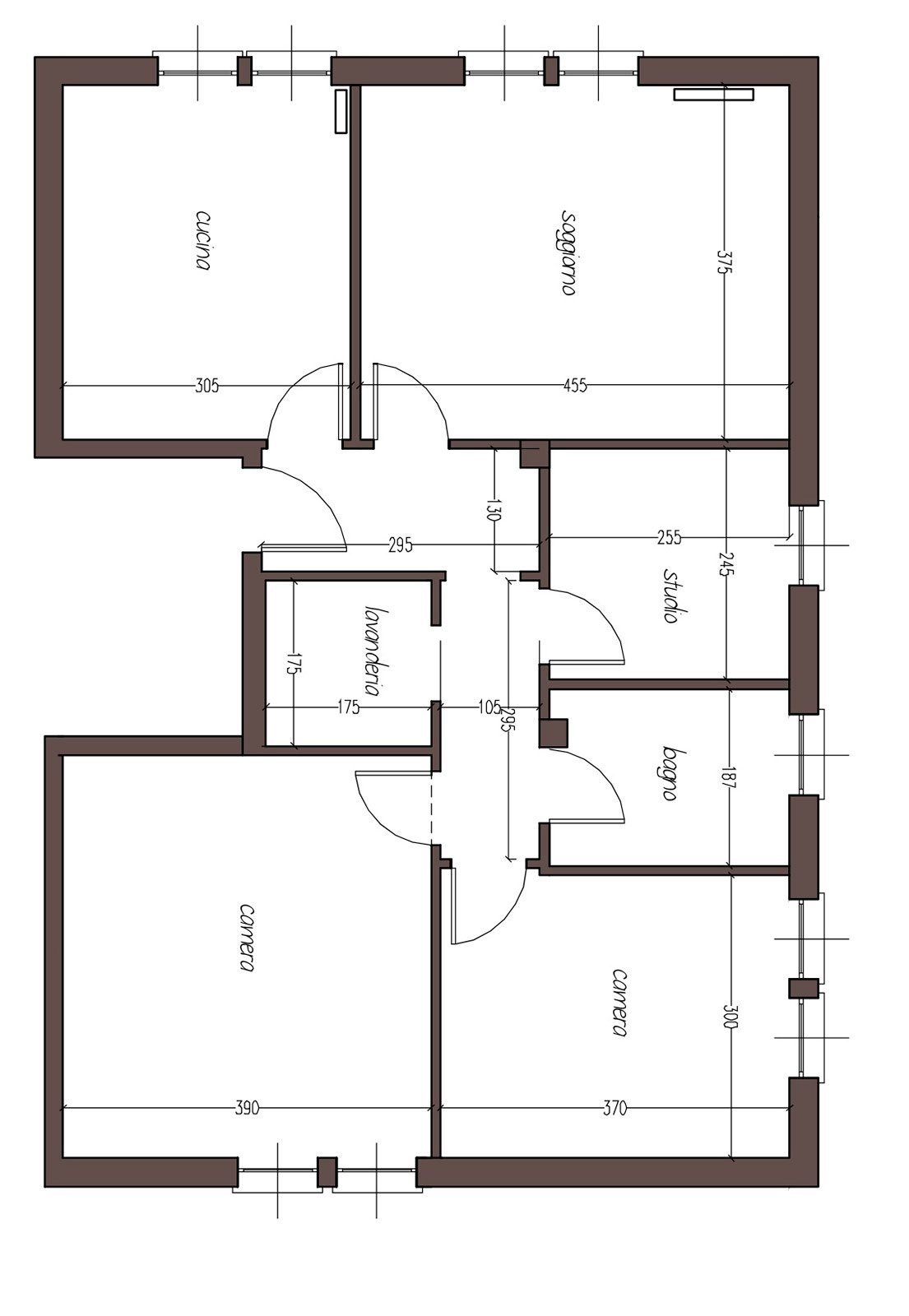 Progetto interno casa ispirazione design casa - Progetto casa design ...