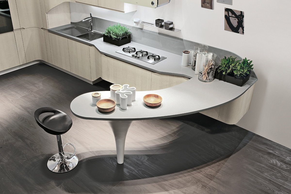 Cucine focus sui piani cose di casa for Top in okite