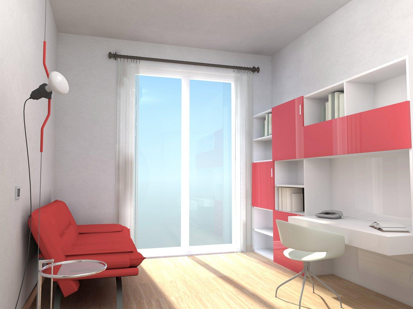 In 80 mq soggiorno pi ampio prima soluzione cose di casa for 7 piani di casa di camera da letto
