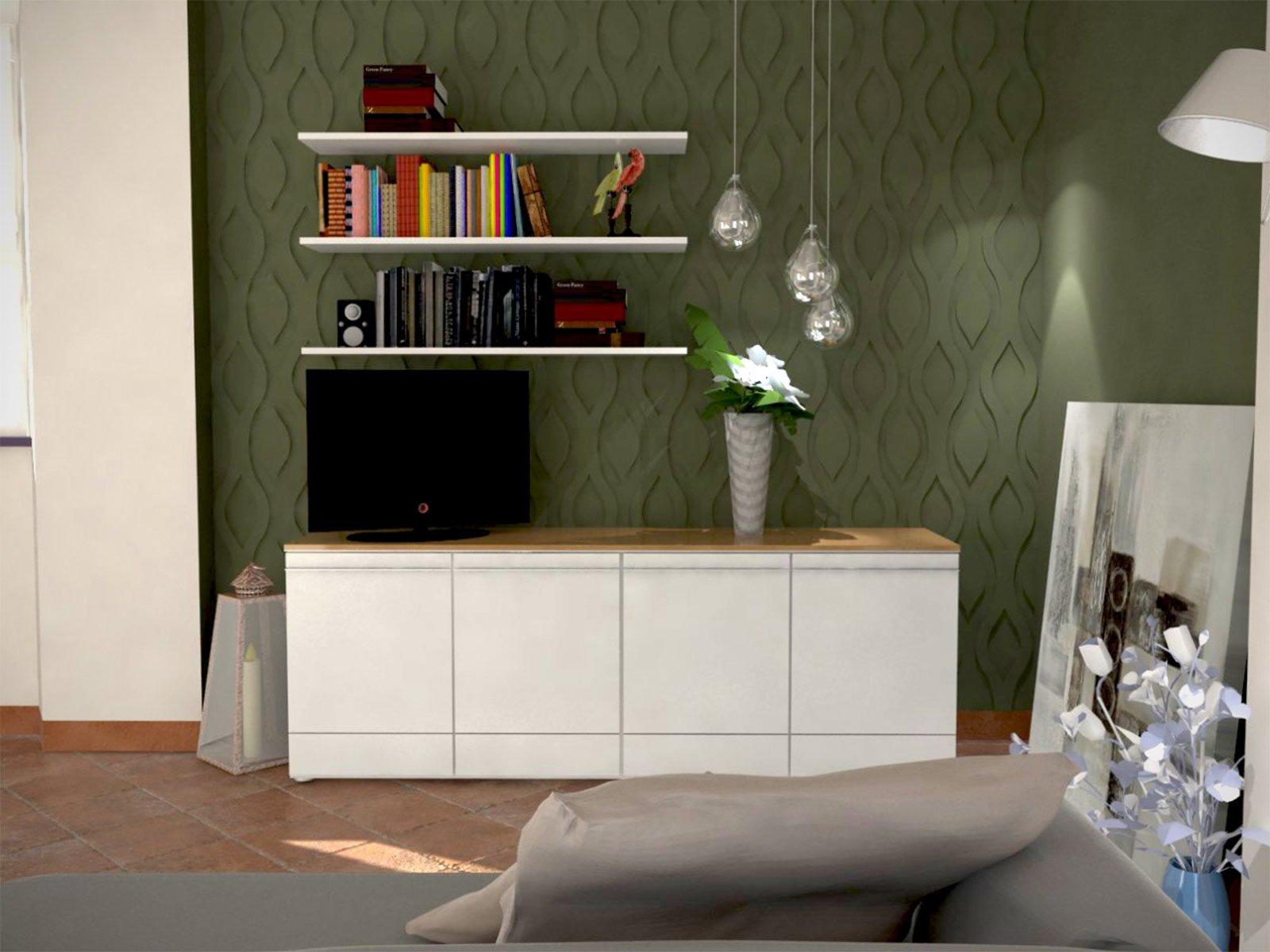 Pavimento in cotto e arredamento moderno cose di casa - Che colore dare alle pareti di casa ...