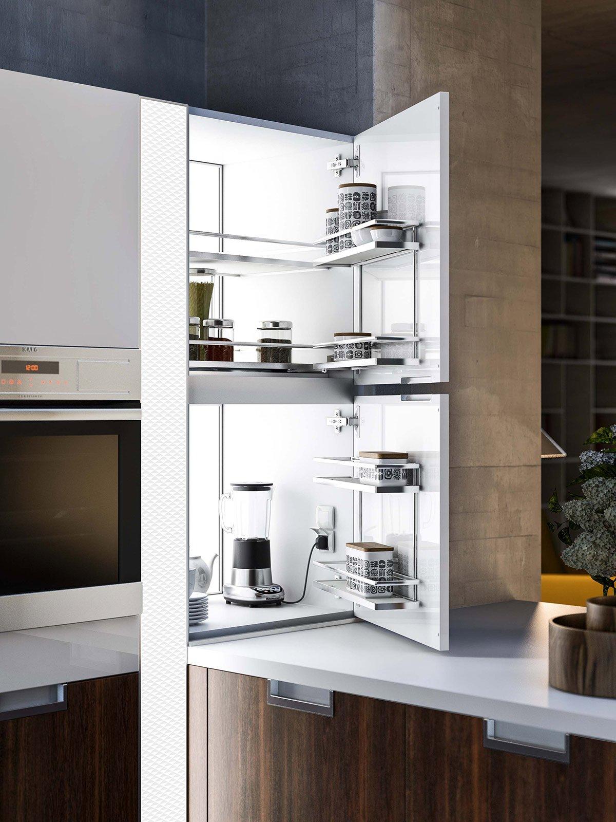 Cucina le soluzioni per l angolo cose di casa for Accessori pensili cucina