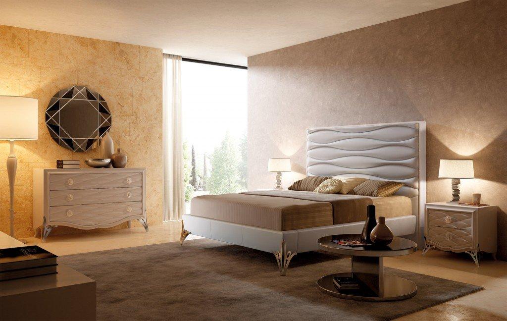 Camera da letto a tinte chiare cose di casa for 12 piani casa di lusso camera da letto