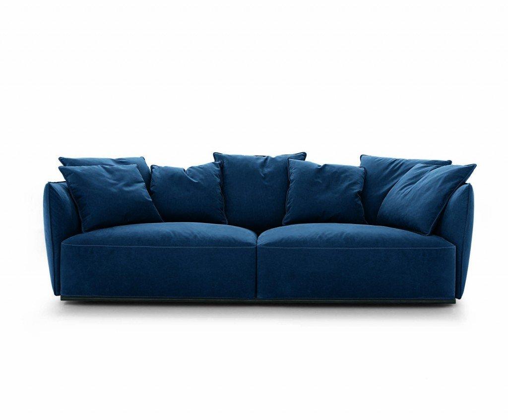 Divani blu cose di casa - Cuscini seduta divano ...