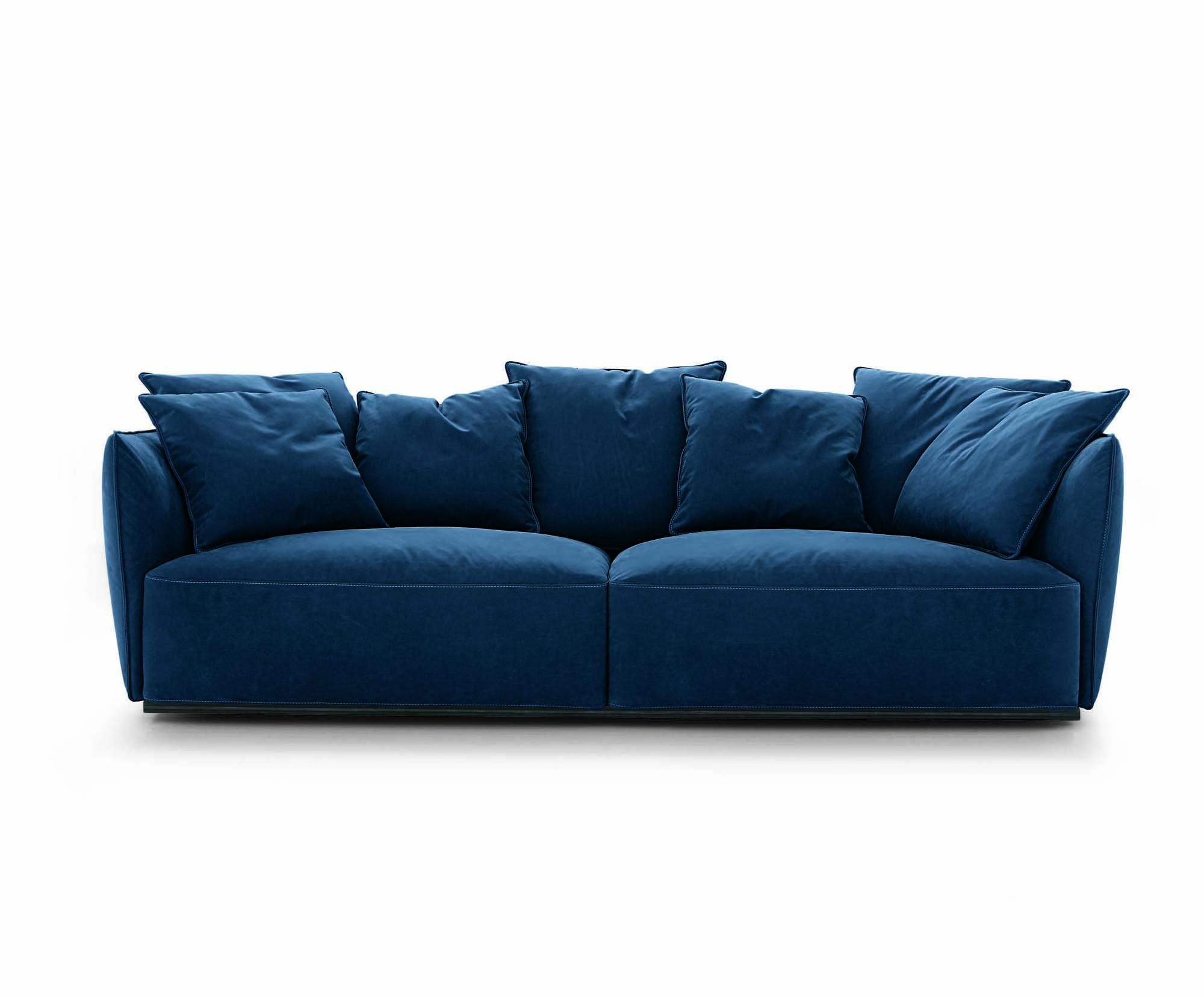 Divani In Pelle Blu.Divani Blu Cose Di Casa