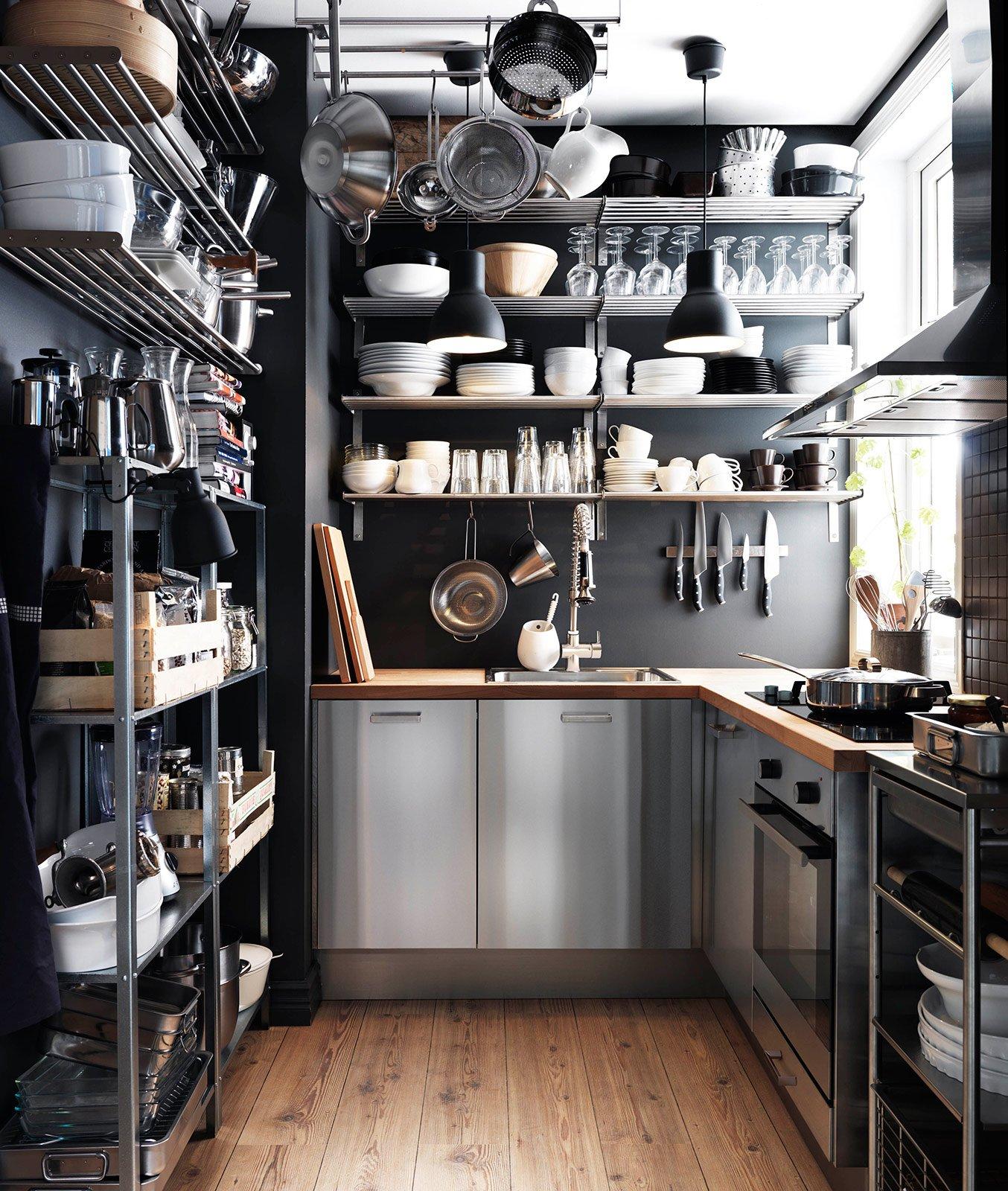 cucina: che moduli scelgo per la dispensa - cose di casa - Cucine Acciaio Ikea