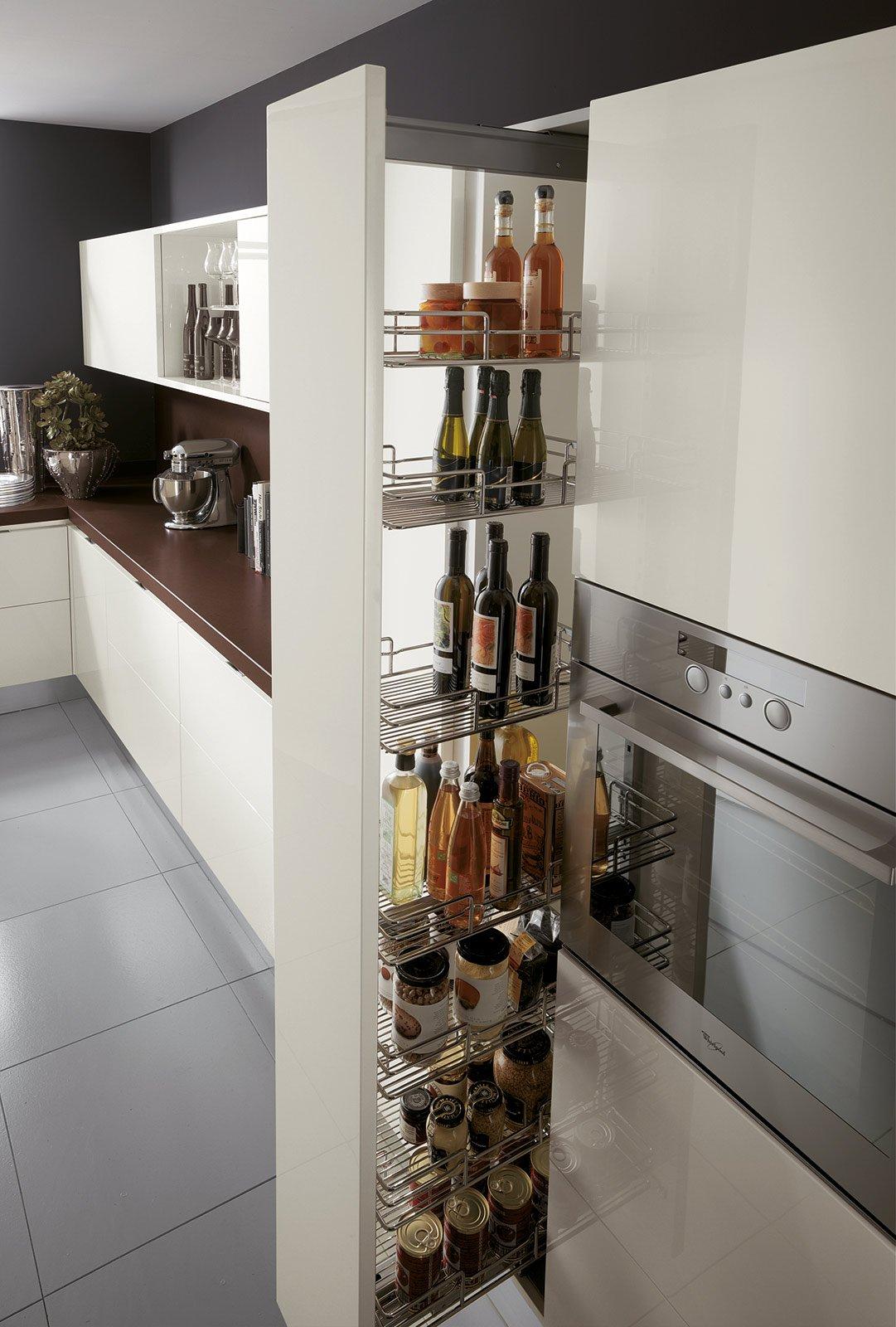 cucina: che moduli scelgo per la dispensa - cose di casa - Cestelli Estraibili Per Cucine