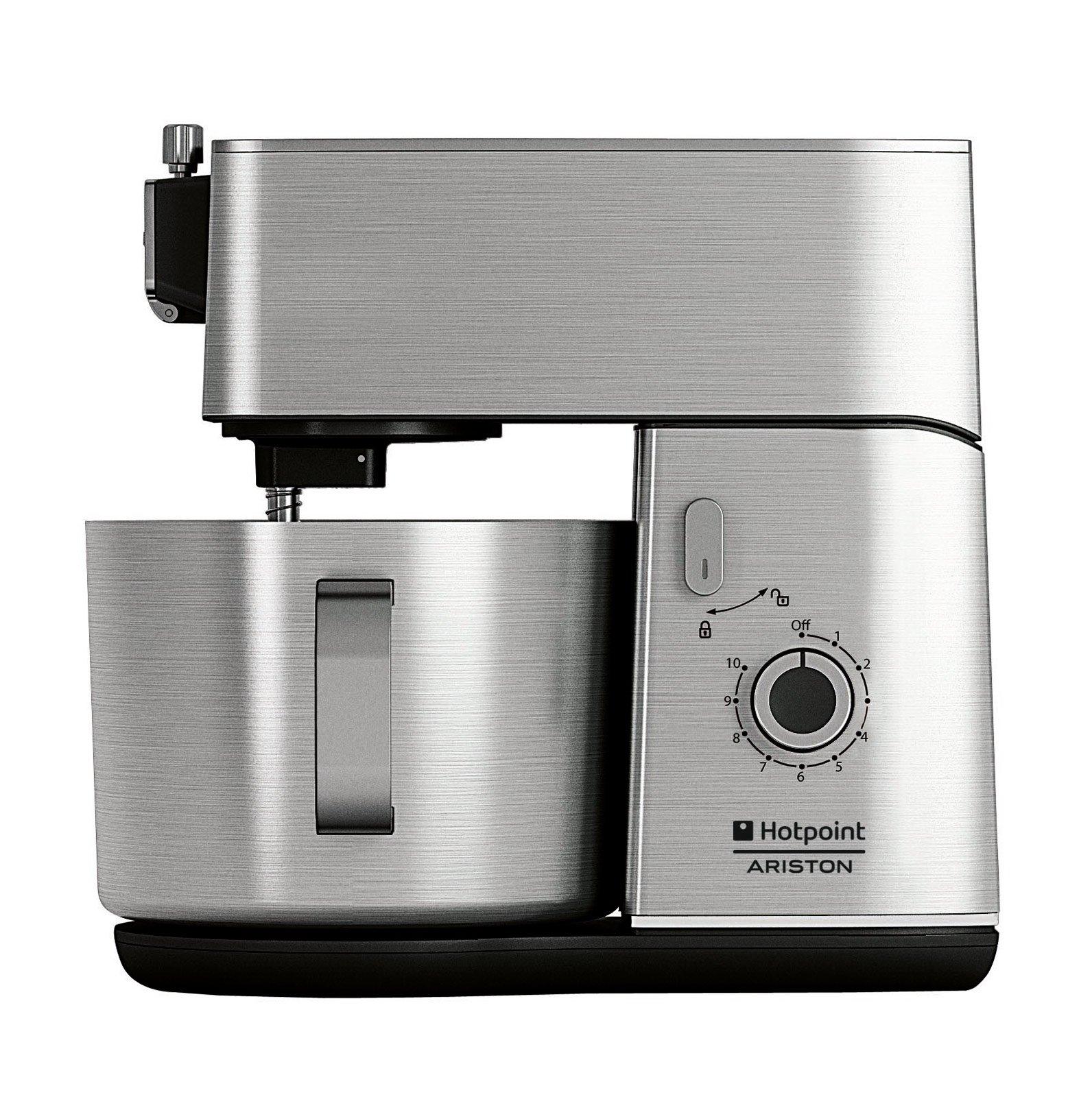 grazie ad accessori professionali studiati per ottenere performance sempre eccellenti la kitchen machine di hotpoint