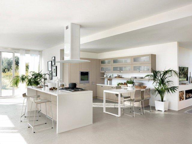 Cucina libert compositiva cose di casa for Piani di cucina con isola e camminare in dispensa