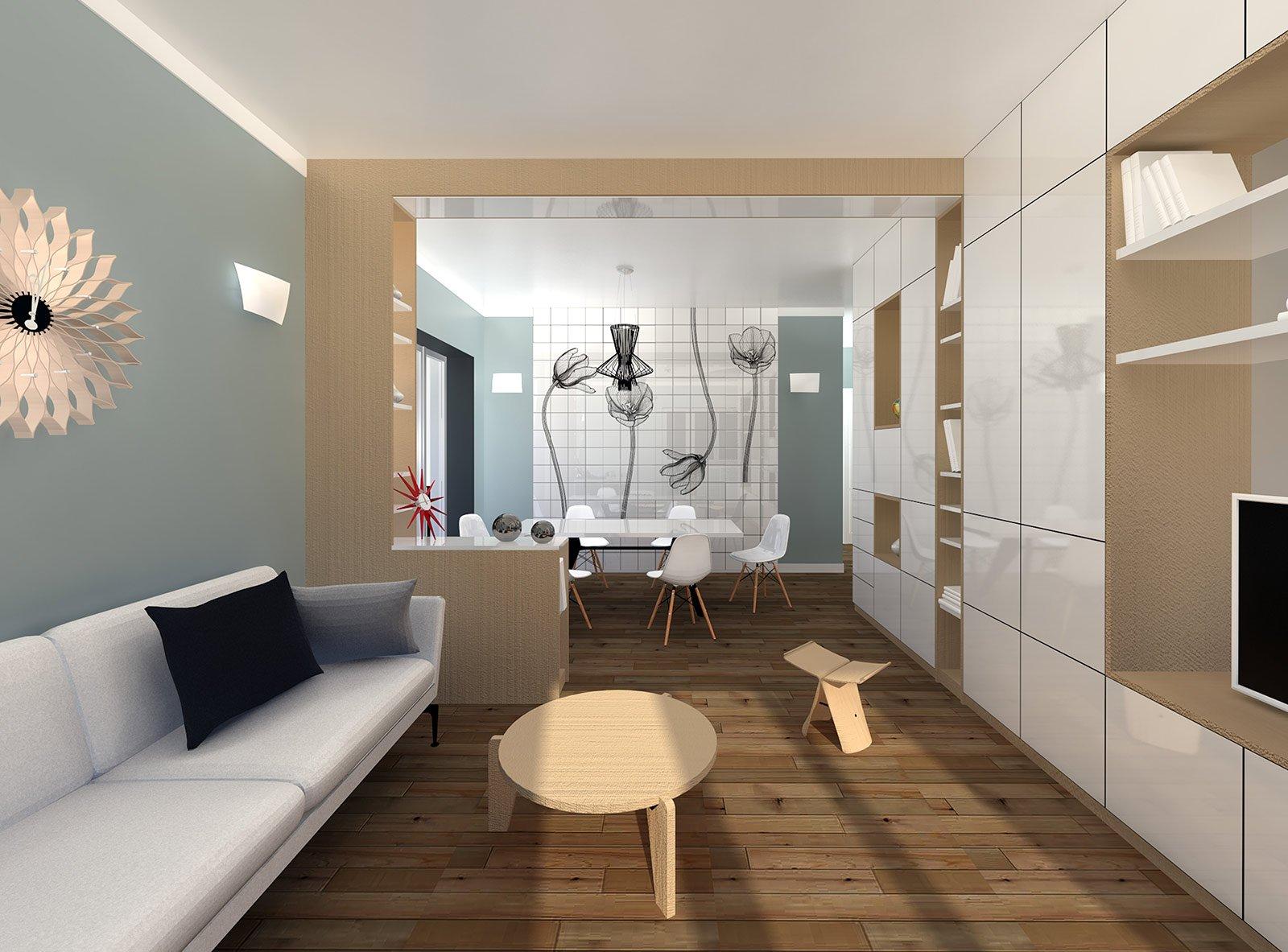 come arredare un soggiorno rettangolare con cucina | madgeweb.com ... - Come Arredare Un Soggiorno Rettangolare