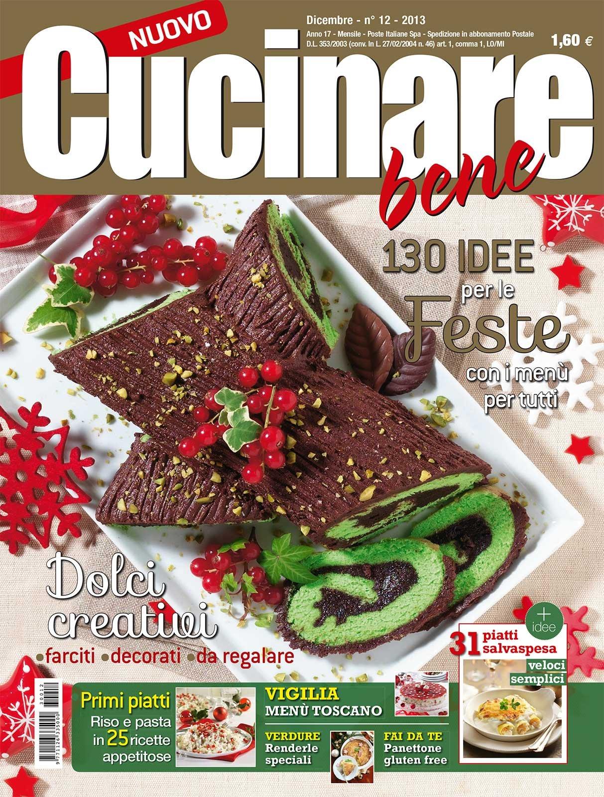 in edicola il numero di dicembre di cucinare bene cose