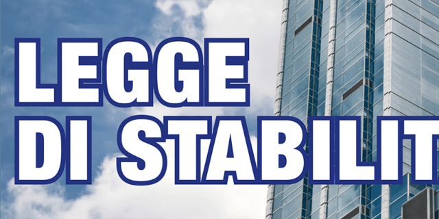 Legge di stabilità: rischio stangata da 2 miliardi