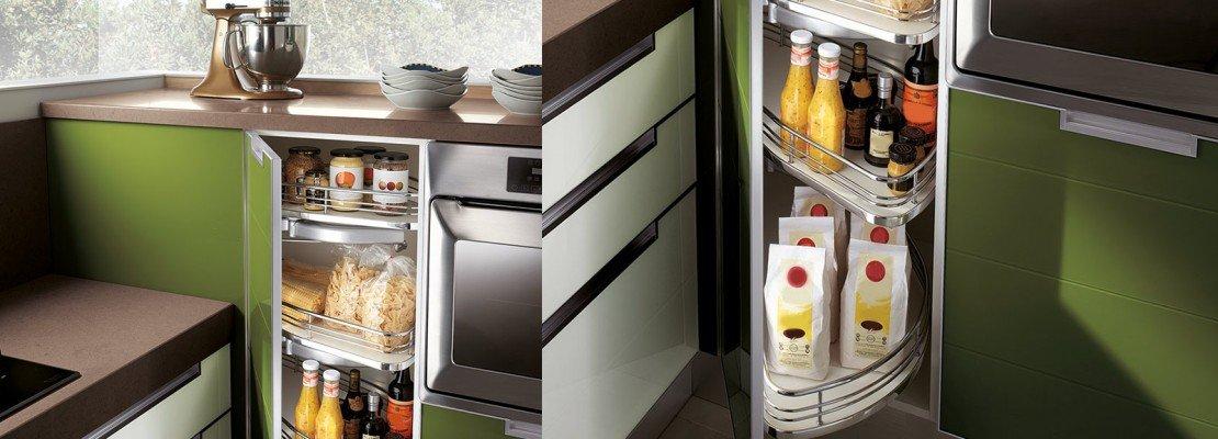 Cucina: le soluzioni per l'angolo   cose di casa