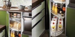 Cucina: le soluzioni per l'angolo