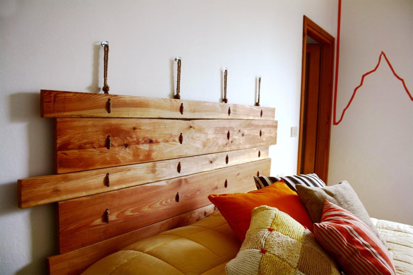 Come Costruire Una Testiera Letto letto low cost con la testiera fai da te - cose di casa