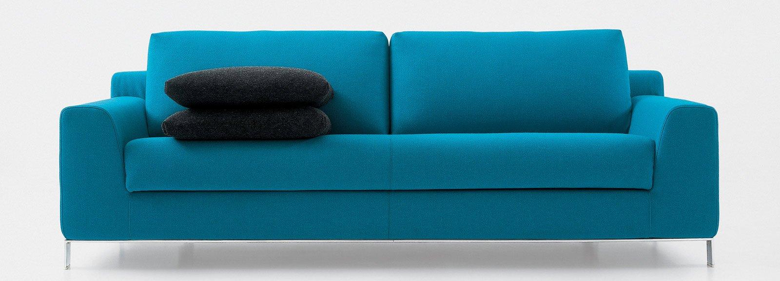 Divani blu cose di casa - Divano letto blu ...