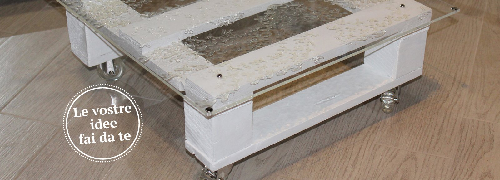 Tavolini in legno di riciclo su ruote cose di casa for Tavolini in legno