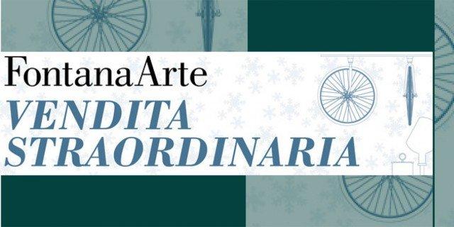 FontanaArte, vendita straordinaria