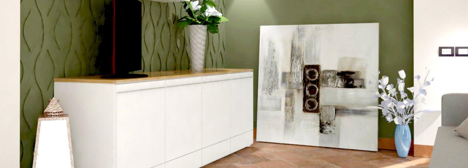 Arredamento Da Soggiorno : Pavimento in cotto e arredamento moderno cose di casa