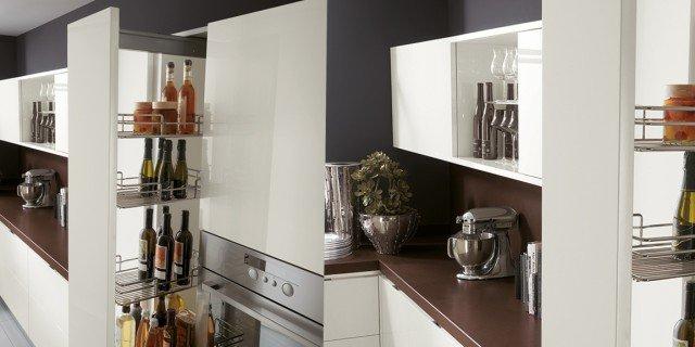 Cucina che moduli scelgo per la dispensa cose di casa - Cucine moderne con dispensa ...
